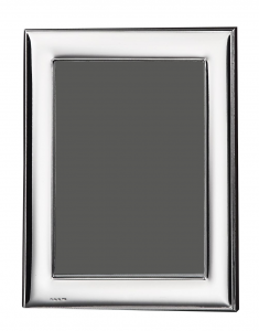 Cornice portafoto in argento 9X13 liscia cm.13x9
