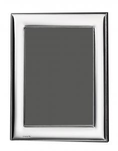 Cornice portafoto in argento 10x15 liscia cm.15x10