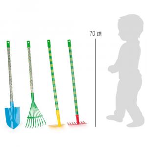Set Attrezzi da giardino giocattolo Bruco Maisazio