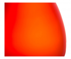 Uovo di Struzzo rosso