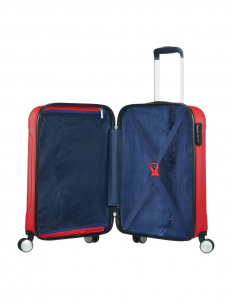 Trolley 4 ruote American Tourister Tracklite rosso
