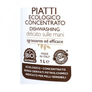 Detersivo Ecologico Liquido Piatti Concentrato 1lt Officina Naturae