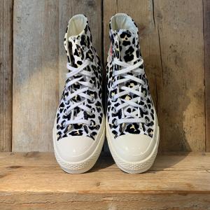 Scarpa Converse Chuck 70 Leopardata Bianca e Nera