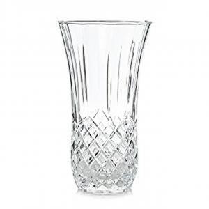 Vaso in Cristallo stile Opera Rcr cm.30h diam.15