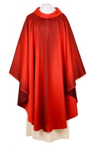 Casula Angelica CSER17 Rosso - Seta Foderata