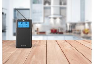 Kenwood CR-M10DAB-B radio Portatile Analogico e digitale Nero