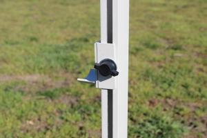 Salto aperto obedience, leggero e regolabile (totalmente in alluminio)