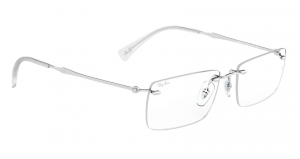 Ray Ban - Occhiale da Vista Uomo, Silver  RB8755 1002  C54