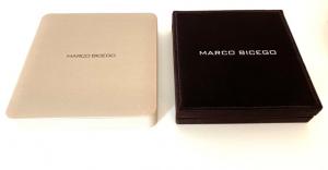 GIROCOLLO MARRAKECH MARCO BICEGO IN ORO BIANCO CON 5 DIAMANTI