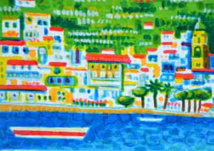 SCIARRANO MIMMO Serigrafia Formato  cm 18x36