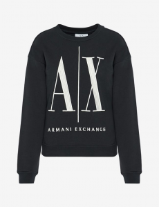Felpa girocollo donna ARMANI EXCHANGE icon A/X