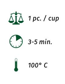 TE' VERDE SENCHA - TIN 10 filtri da 3g + RICARICA 100 filtri da 3g
