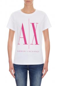 T-shirt manica corta donna ARMANI EXCHANGE icon A/X