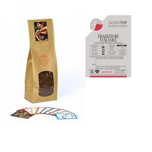 Miscela di caffè in grani Tradizione Italiana  confezione da 1kg, 500gr e 250gr