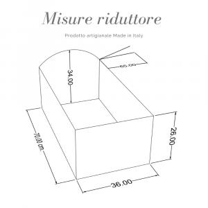 Riduttore  letto riduttore 360° completo trapuntato fantasia pois rosa related image