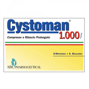 CYSTOMAN 1000 - INTEGRATORE A BASE DI D-MANNOSIO + S. BOULARDI