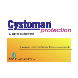 CYSTOMAN PROTECTION - INTEGRATORE DI D-MANNOSIO, VITAMINA D3 E FERMENTI