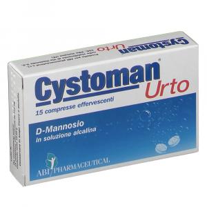 CYSTOMAN URTO - COMPRESSE EFFERVESCENTI A BASE DI D-MANNOSIO