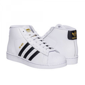 Adidas Pro Model White Black da Uomo