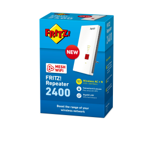 AVM FRITZ!Repeater 2400 2333 Mbit/s Ripetitore di rete Bianco
