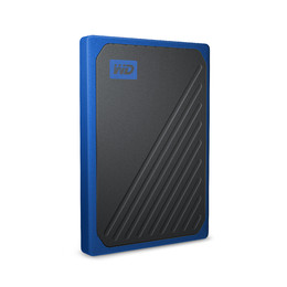 Western Digital My Passport Go 1000 GB Nero, Blu