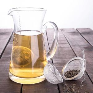Infusore per il tè in maglia di acciaio inossidabile