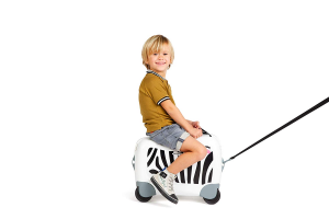 Trolley Kids SAMSONITE DREAM RIDER Zebra, bagaglio a mano