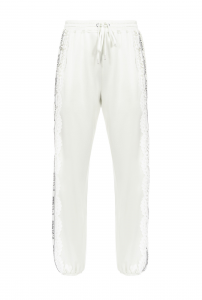 SHOPPING ON LINE PINKO C-CLIQUE PANTALONE WEMBLEY 1  JOGGERS CON PIZZO NEW COLLECTION WOMEN'S SPRING SUMMER 2020