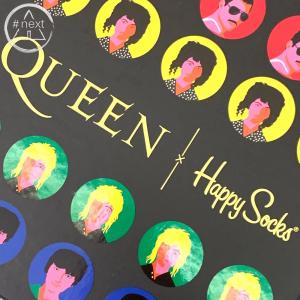 Happy Socks - 6 pack gift box - QUEEN x Happy Socks