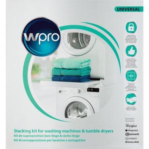 Whirlpool Kit Montaggio SKS101 Kit abbinamento a colonna asciugatrici con lavatrici.