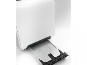 DeLonghi CTX 2203.W 2fetta/e 550W Argento, Bianco tostapane