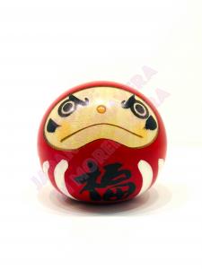 Bambola Kokeshi Daruma Rosso