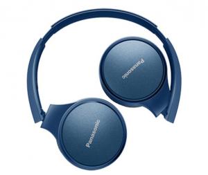 Panasonic RP-HF410BE-A headphones/headset Cuffia Padiglione auricolare Blu