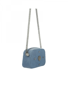 SHOPPING ON LINE  LE PANDORINE VICKY MINI SALUTARE DENIM NEW COLLECTION WOMEN'S SPRING SUMMER 2020