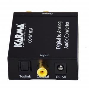 Karma Italiana CONV 3DA convertitore audio Nero