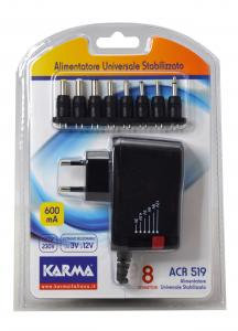 Karma Italiana ACR 519 adattatore e invertitore Interno Nero