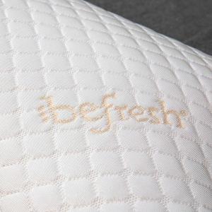 Cuscino in Memory Foam Ergonomico con Rivestimento Termoregolatore Sfoderabile, Guanciale Cervicale per Supporto al Collo, Ortopedico, misura 45x75 alto 12 cm | FARFALLA