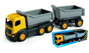 Camion 6 ruote più rimorchio alto in box singolo 1130 ADRIATIC