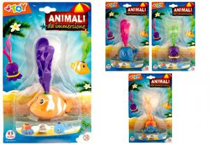 ANIMALI A IMMERSIONE 4 ASS. 39651 GLOBO