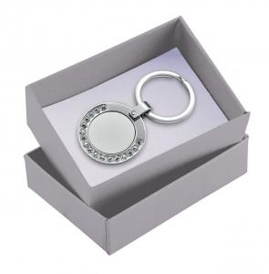 Scatola per portachiavi color argento