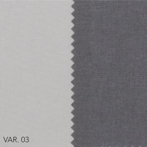 Trapunta Matrimoniale 270x270 cm con Rivestimento in Cotone Double Face Chiaro Scuro, Imbottita in Morbida Microfibra 100% Poliestere, Tessuto IPOALLERGENICO | KEMO