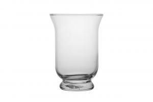 Vaso in vetro cm.19,5h diam.14