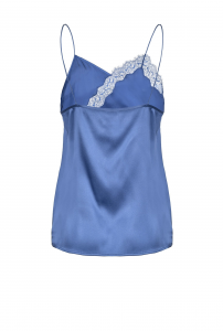 SHOPPING ON LINE PINKO TOP SATIN STRETCH COLORI BLUETTE BIANCO E NERO NEW COLLECTION WOMEN'S SPRING SUMMER 2020