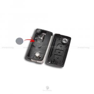 Chiave Guscio Scocca E Lama Telecomando 3 Tasti Per Auto Citroen C2 C3 C5 C6 C8 Xsara Picasso Ce0536 (B01H)