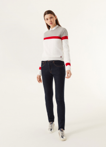 SHOPPING ON LINE COLMAR PULLOVER CON RIGHE A CONTRASTO NEW COLLECTION WOMEN'S SPRING SUMMER 2020