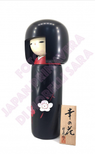 Bambola Kokeshi - Fiore Felice L (Sachi no hana)