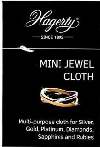 Tessuto impregnato per la pulizia e la cura di gioielli e pietre preziose Hagerty cm.10x7x1h