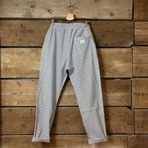 Pantalone Bakery Lowan Broadway Bianco e Blu a Righe