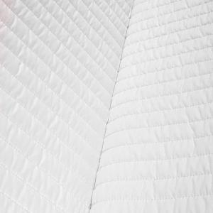 Materasso per Divano Letto Alto 10 cm, Pieghevole e in Poliuretano, Ortopedico con Rivestimento Bianco ANALLERGICO e Laccetti di Fissaggio | SOFA BED