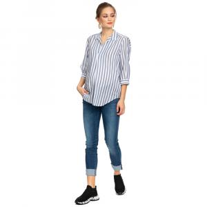 Panarea camicia a righe gravidanza